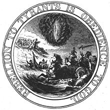 First proposed seal of the United States, 1776